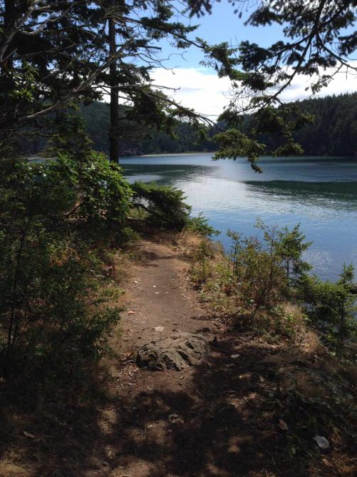 View from the trail at Deception Pass State Park |© Mike Nagler