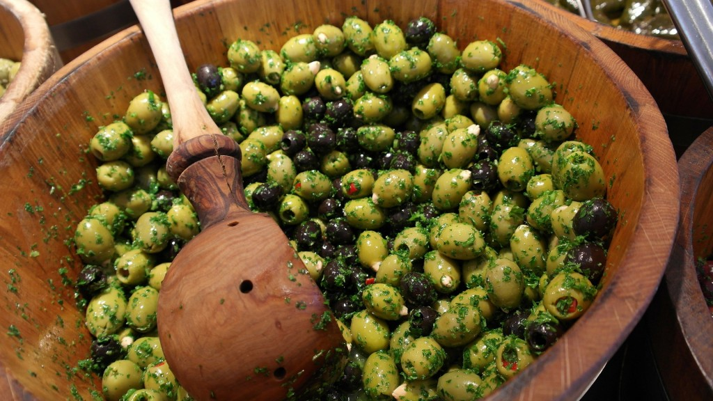 Maltby Market - Olives