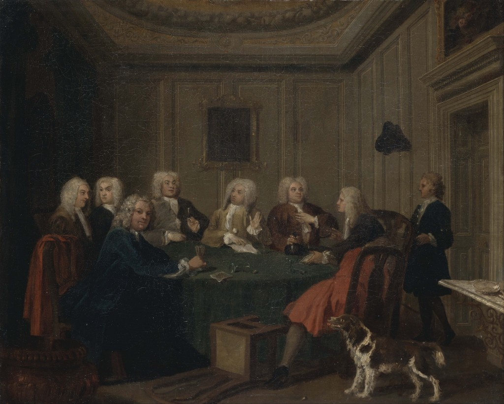 A Gentlemens Club © Joseph Highmore c. 1730