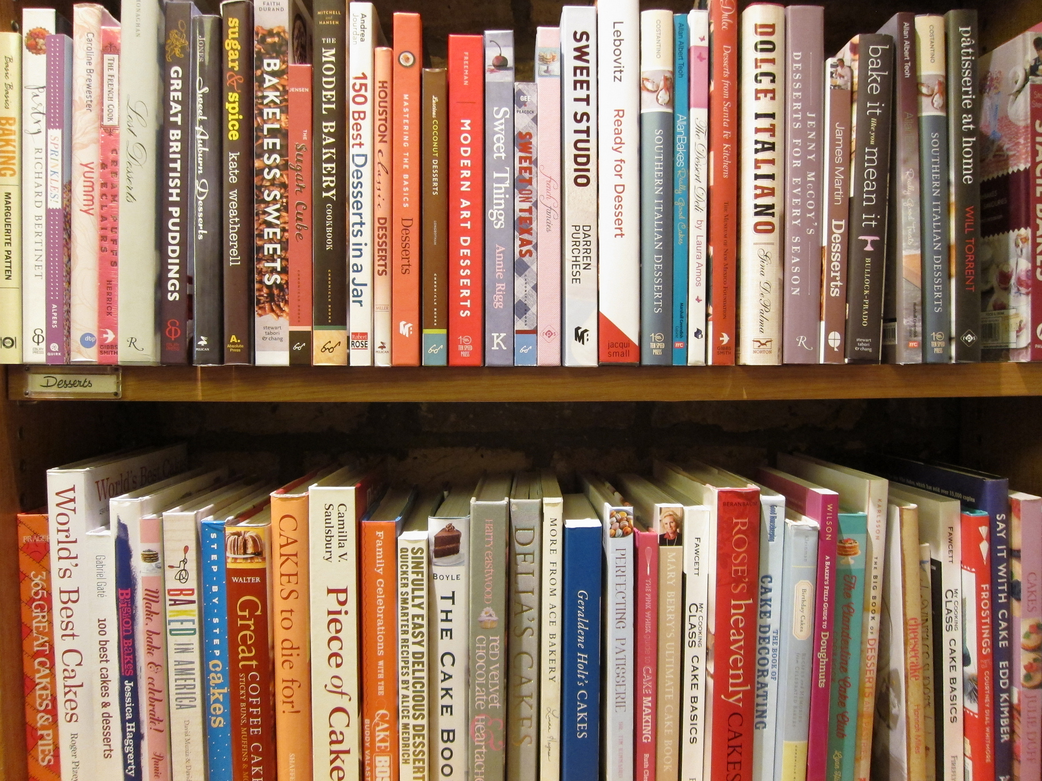 Plenty Of Cooking Books To Browse Through