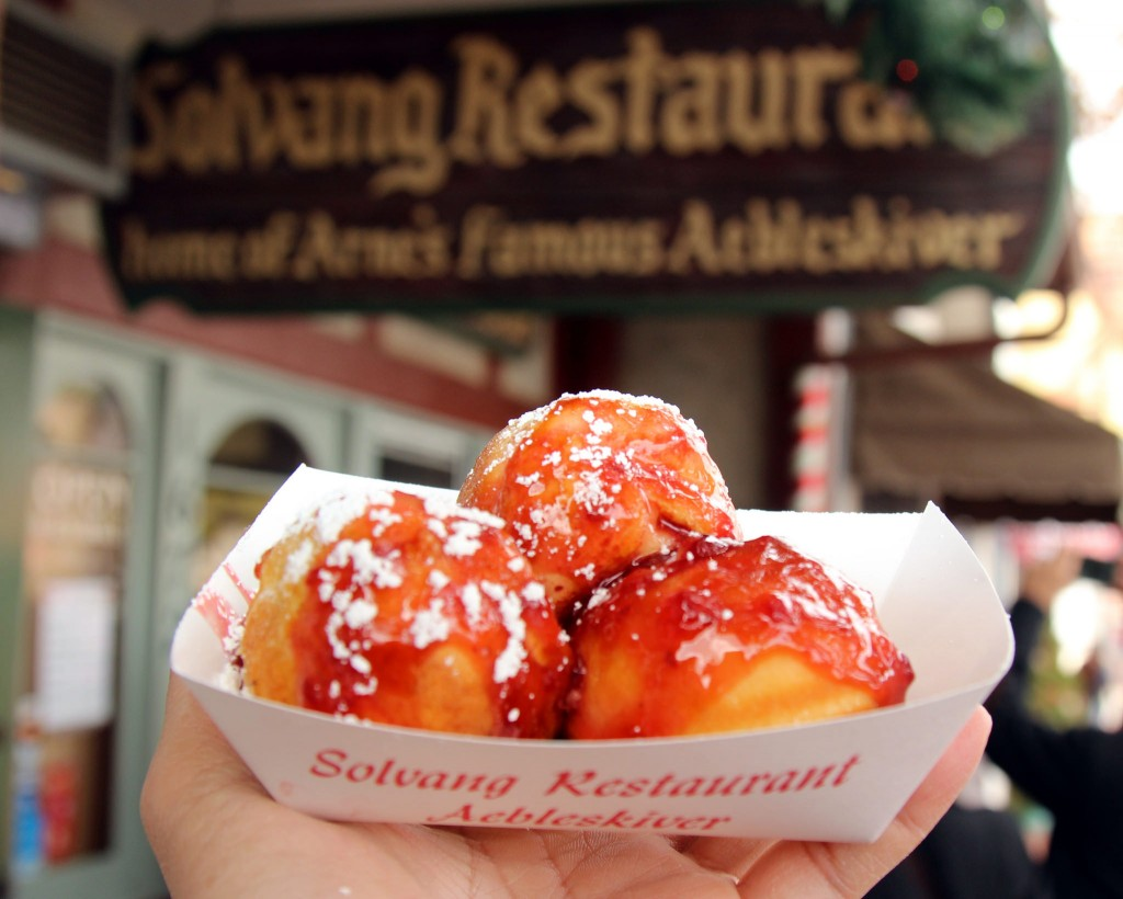 Solvang is famous for its Danish Aebleskiver © Prayitno