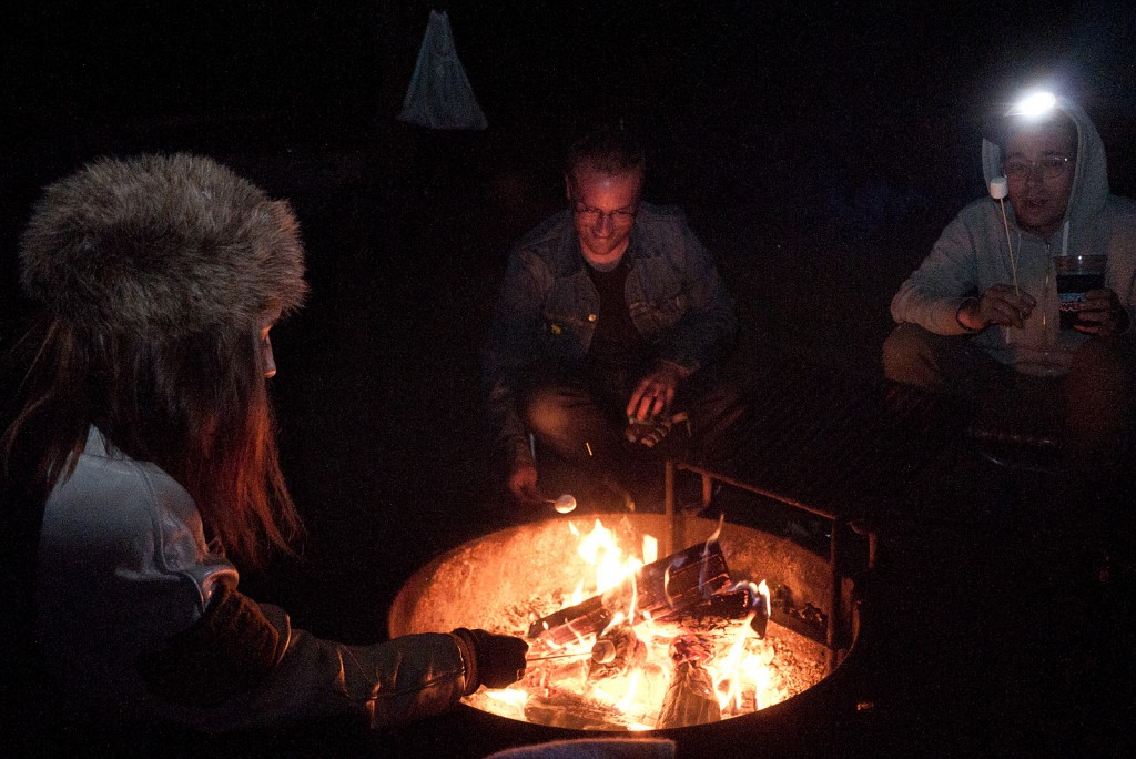 Campfire in Ojai © Jared eberhardt