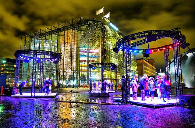 Helsinki Light Exhibition | © Timo Newton-Syms/Flickr