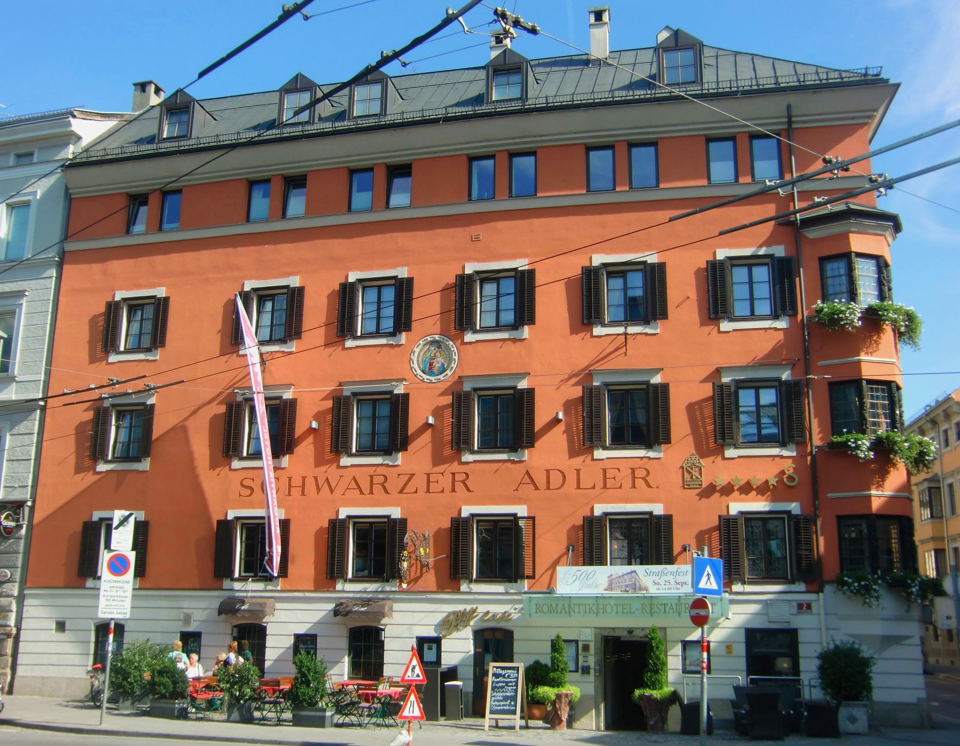 Innsbruck hotel schwarzer adler