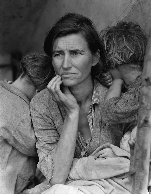 Migrant Mother by Dorothea Lange| © Dorothea Lange/WikiCommons