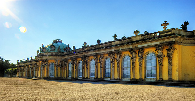 Potsdam Schloss Sanssouci | © Wolfgang Staudt/Flickr