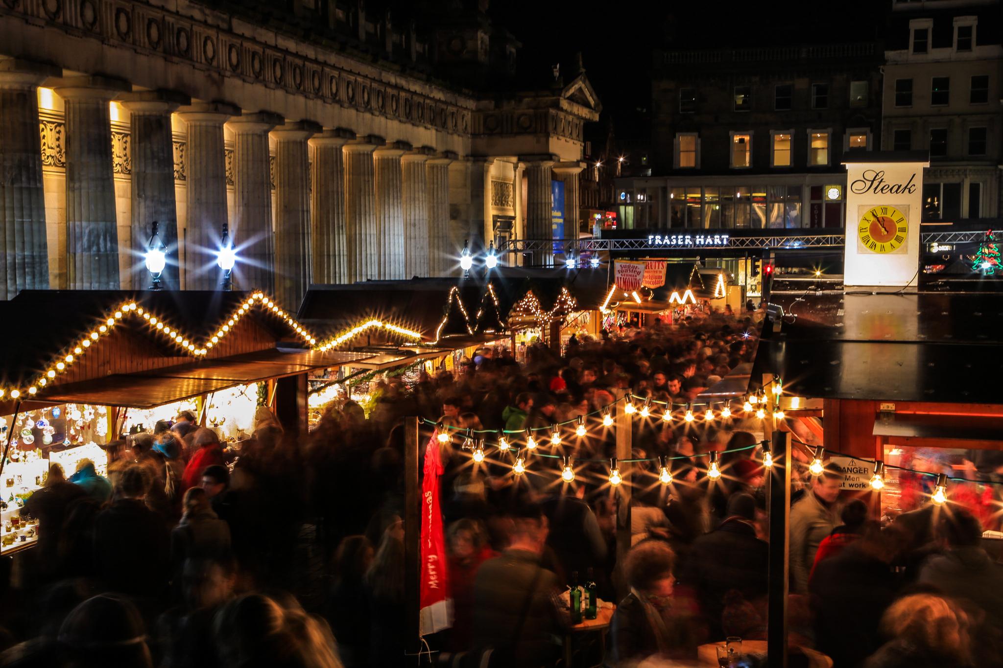 is edinburgh christmas market good