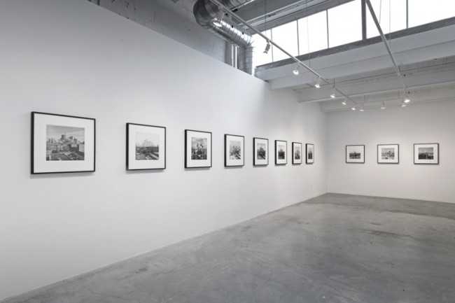 Installation view of Peter MacCallum: Skyline Series, 1979-1992 | Image courtesy of Diazy Contemporary