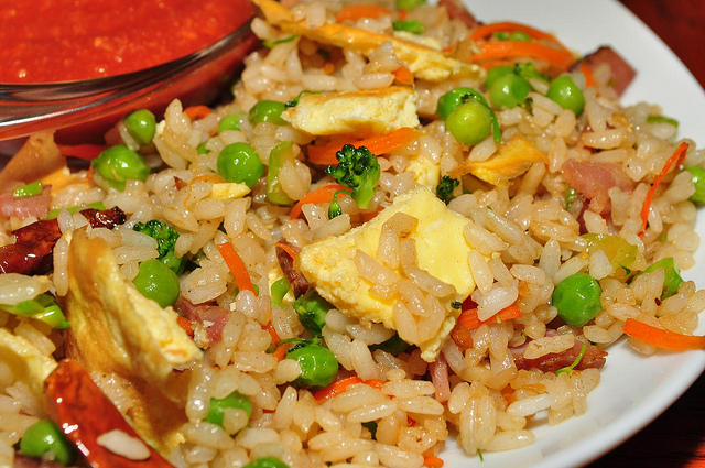 Vegetable fried rice | Ⓒ jeffreyw/Flickr