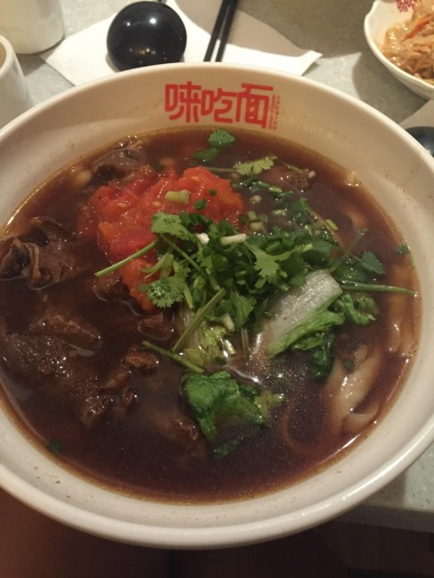 Half-Beef Half-Tendon Noodle Soup at Goody Goody | Courtesy of Celine Au-Yeung