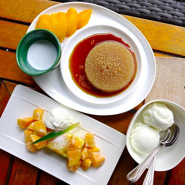Coconut and mango delight