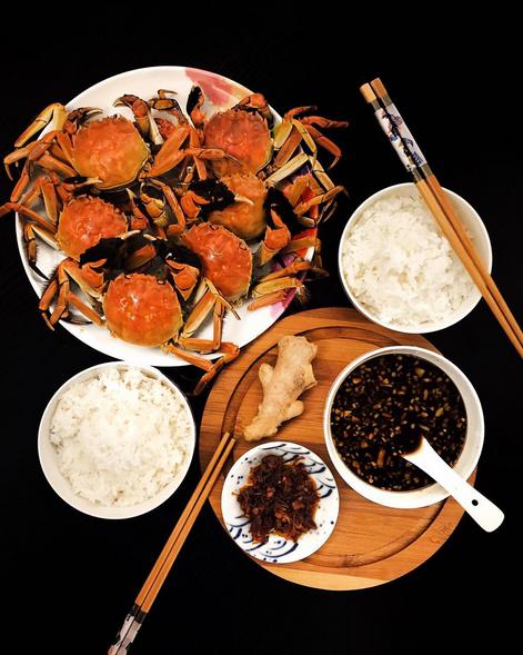 Homemade hairy crabs