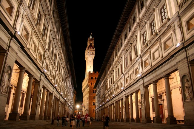 Galleria degli Uffizi, Florence | © Chris Wee/Flickr