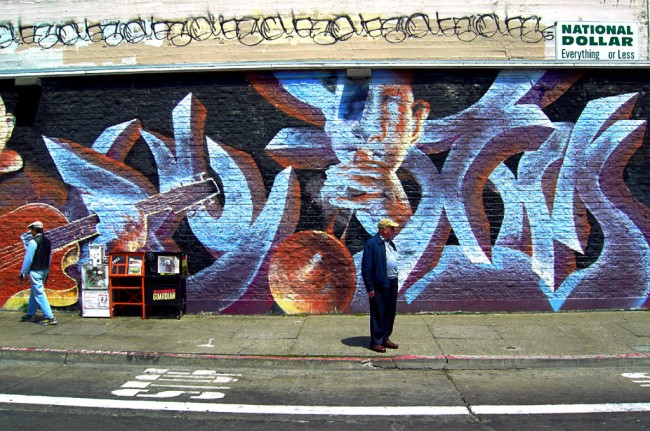Geary Street Art © Nathan Guy/Flickr