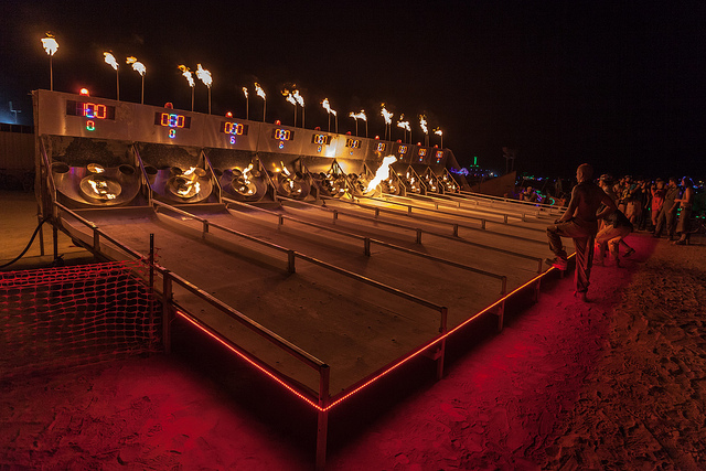 Riskee Ball At The Charcade Ball Burning Man 2013 | ©Duncan Rawlinson/Flickr