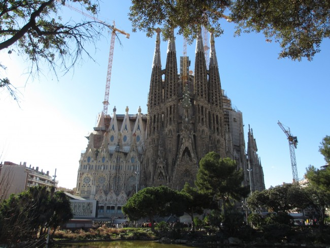 La Sagrada Familia | Courtesy of Tamara Kiewiet
