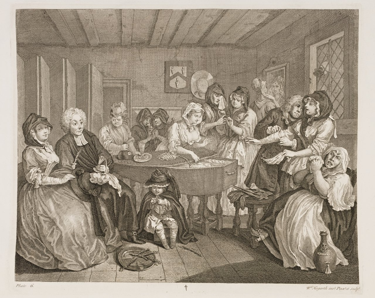 the artwork of william hogarth essay Free essay: as hogarth himself wrote, beer street and gin lane were done when the dredfull [sic] consequences of gin drinking was at its height.