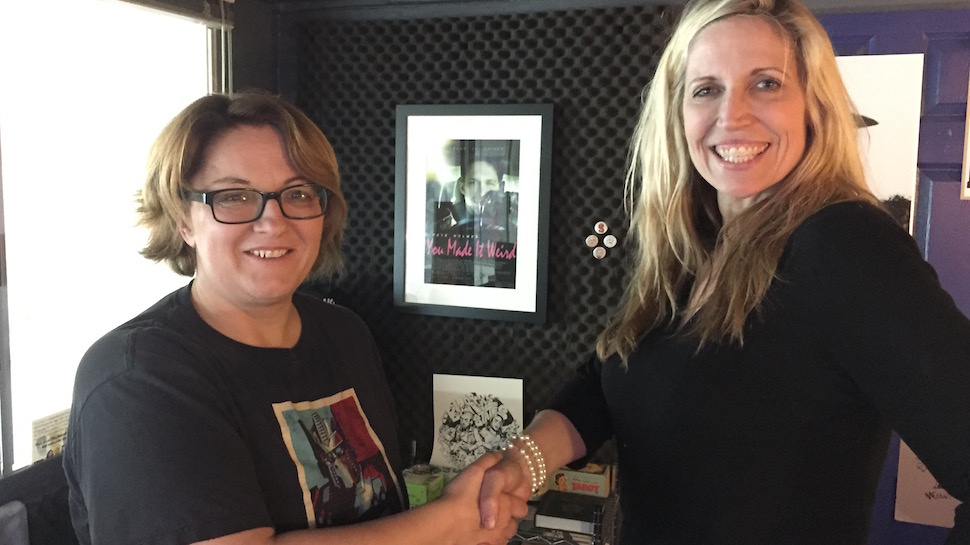 Jackie Kashian and Laurie Kilmartin| © The Jackie And Laurie Show