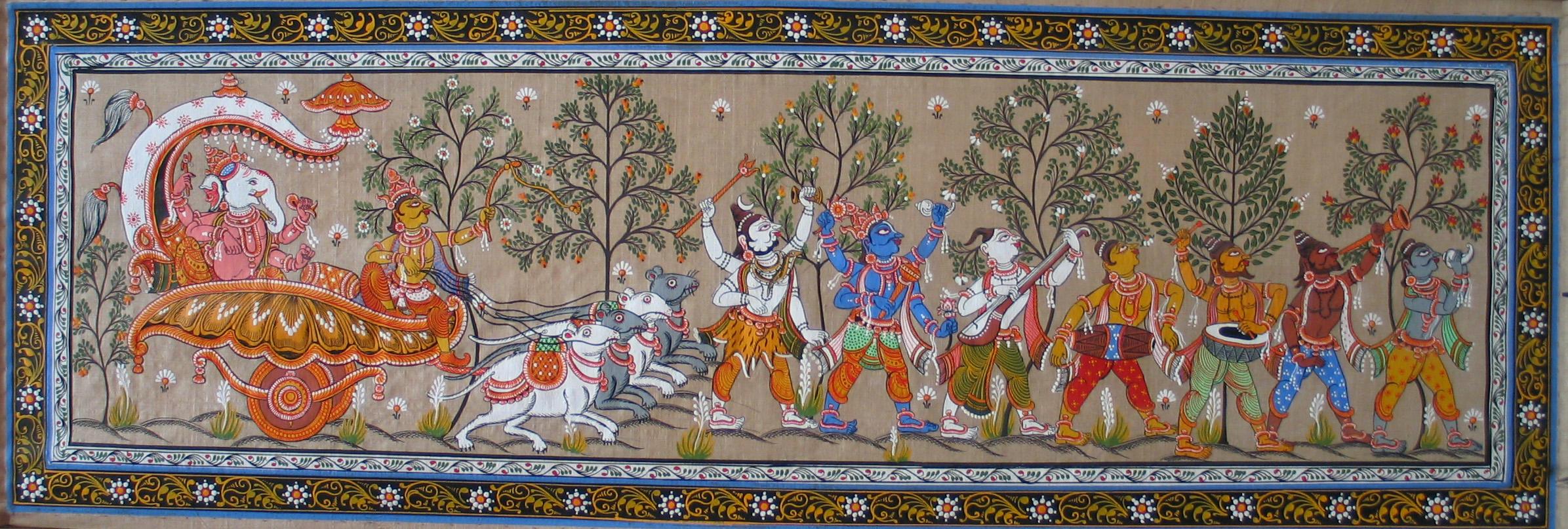 Kalamkari Paintings, the Ancient art of India