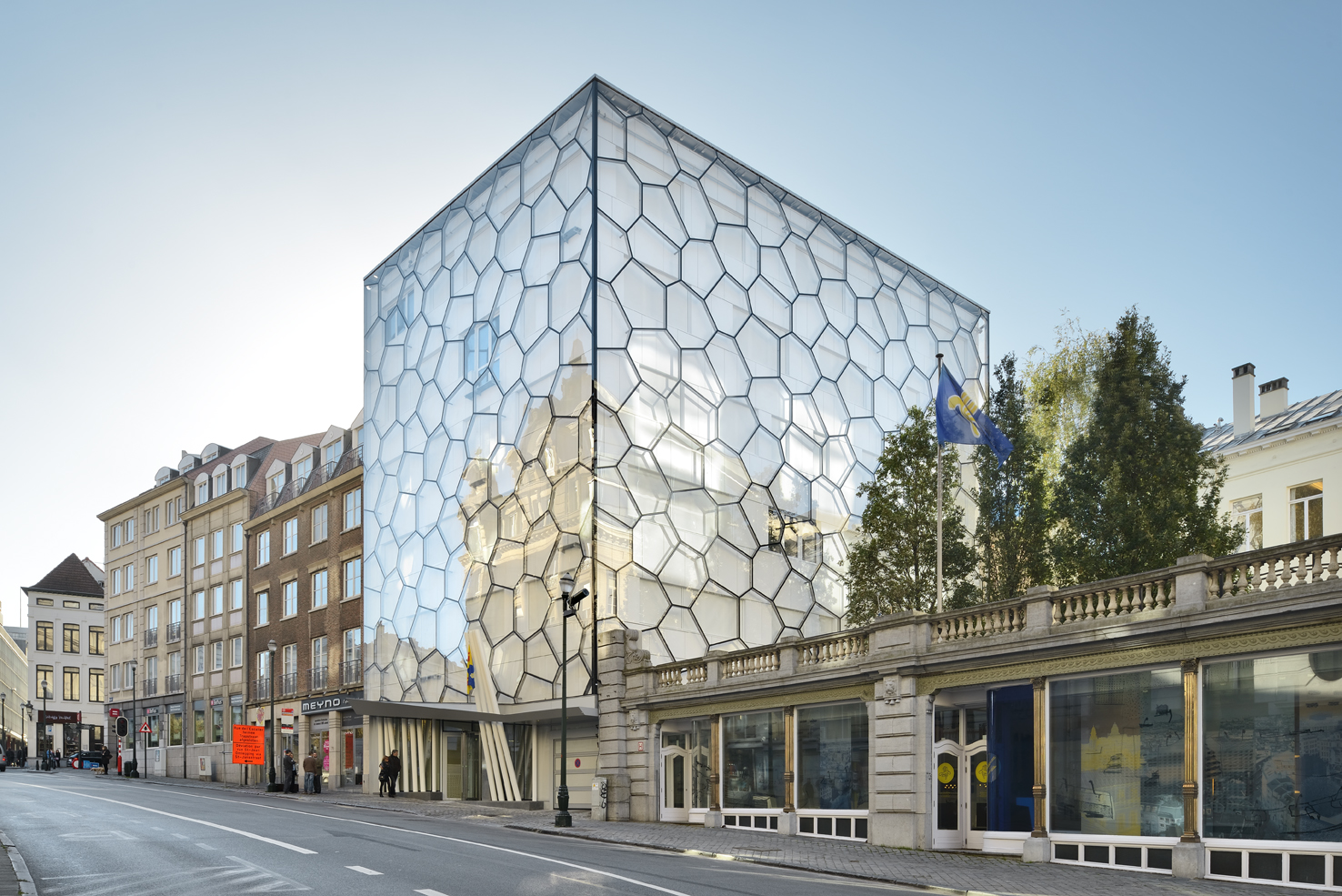 The 7 most beautiful contemporary buildings in brussels for Famous contemporary buildings