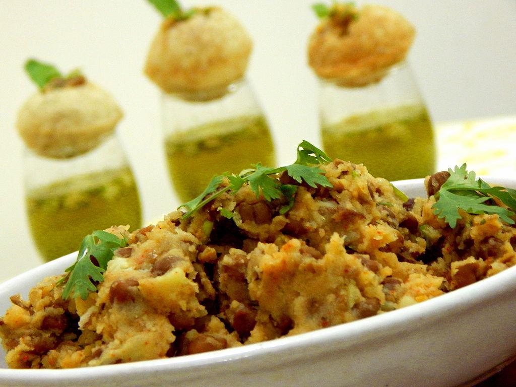 how to make pani puri stuffing