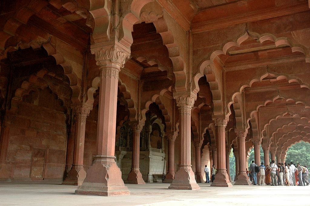 Diwan-E-Aam In Red Fort, New Delhi Stock Photo - Image of