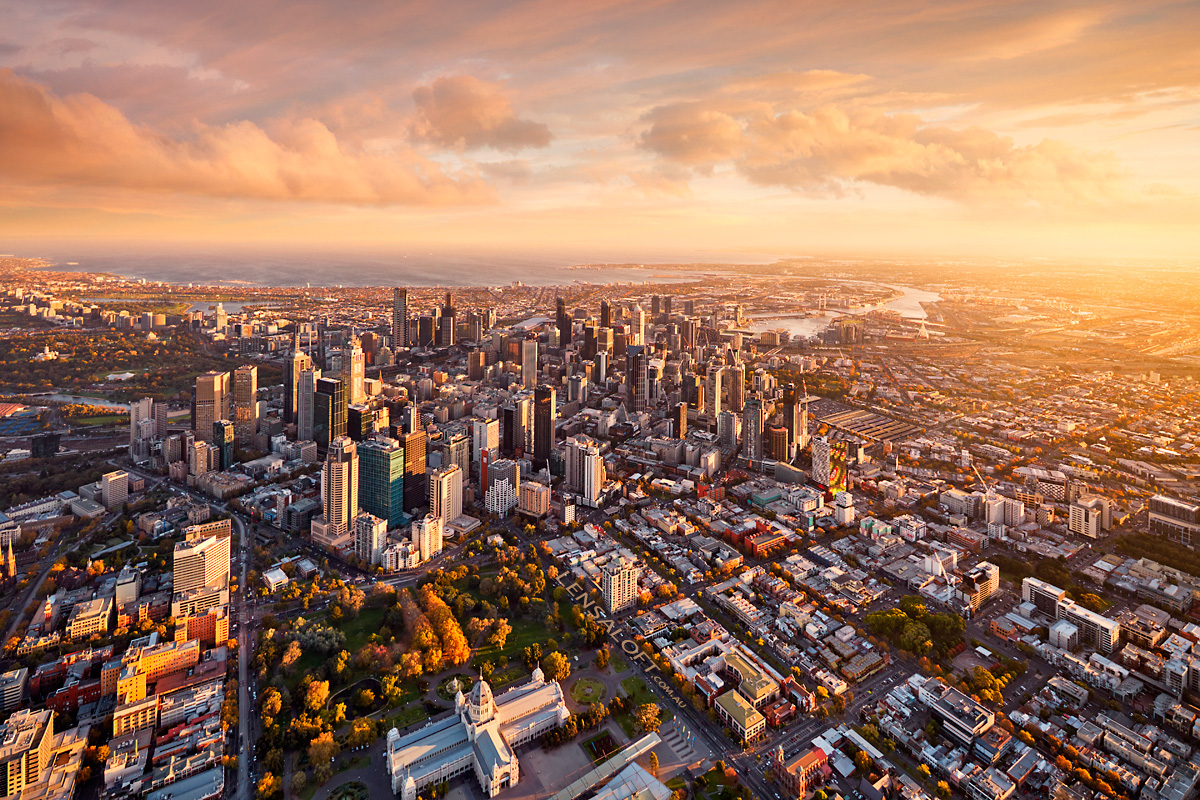 Aerial Photography Resources for Melbourne and Victoria - LibGuides Aerial photo of melbourne