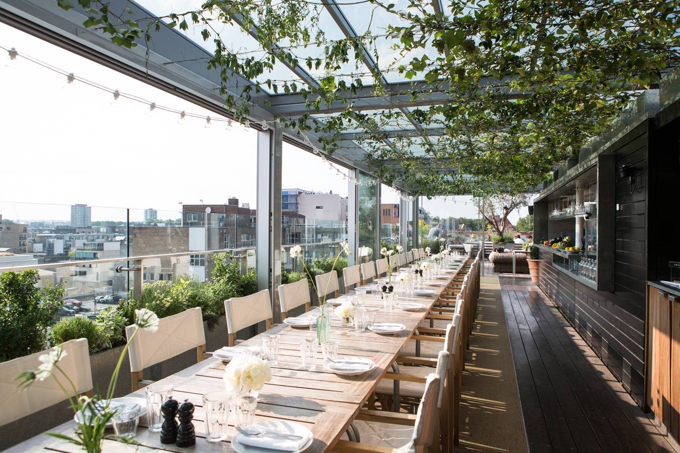 the best rooftop bars in east london