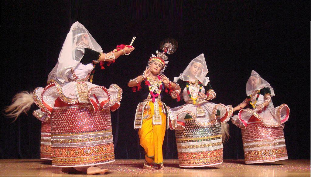 Verführerischer Tanz Aus Bollywood-Hit
