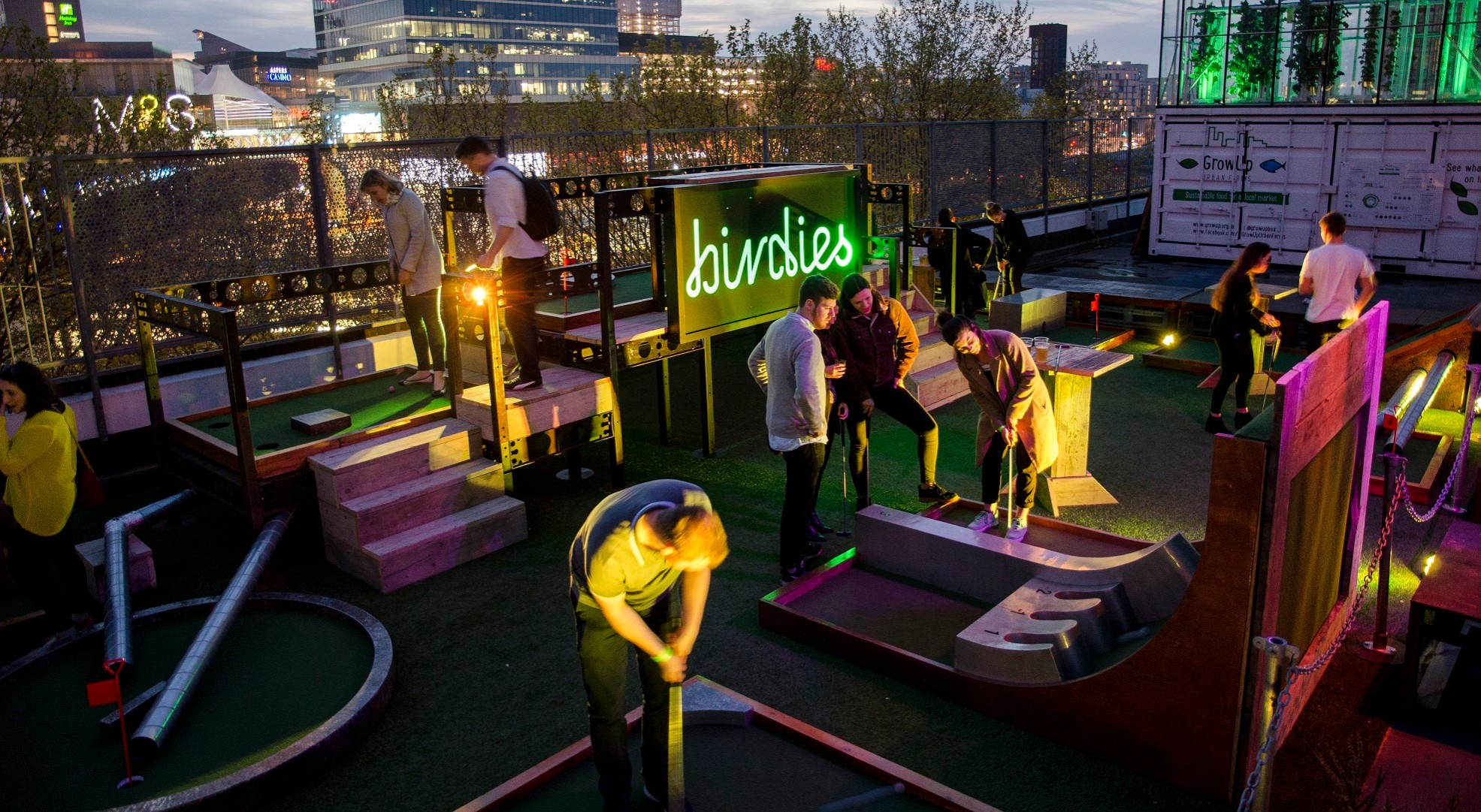 Urban Playground Night