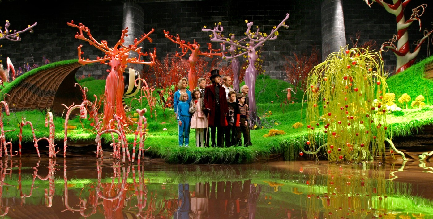 Charlie And The Chocolate Factory Wales