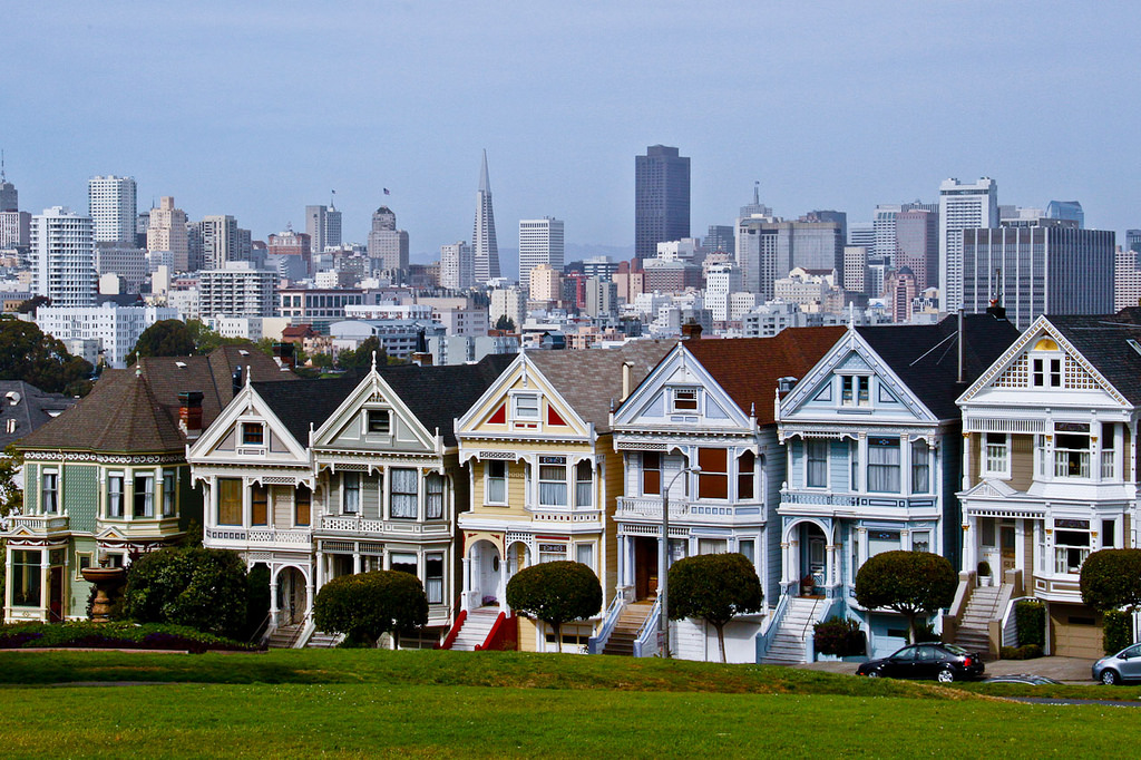The Painted Ladies © Jiahui Huang/Flickr