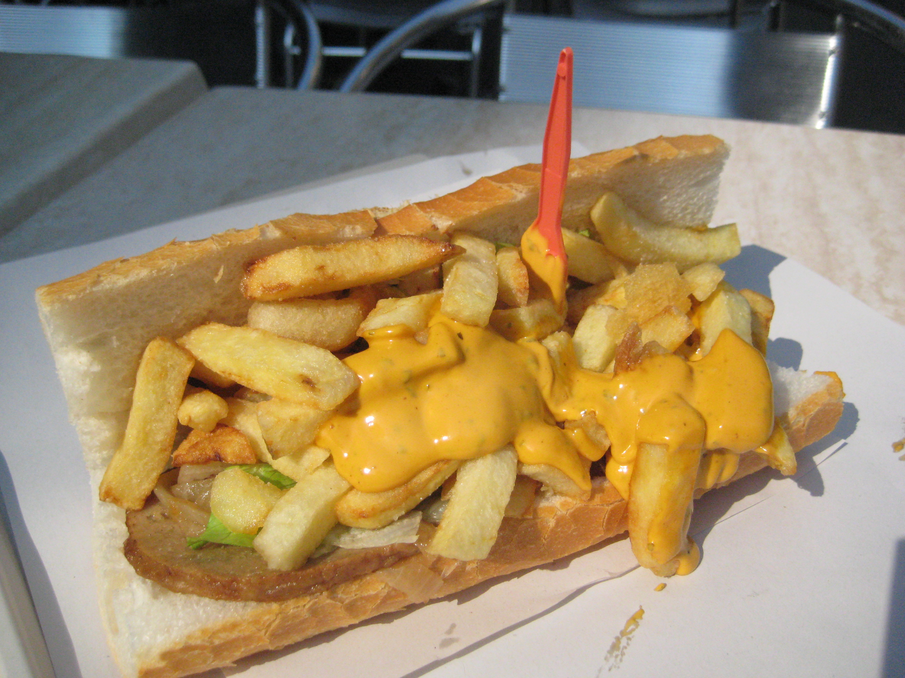 Belgian Food Explained The Mitraillette