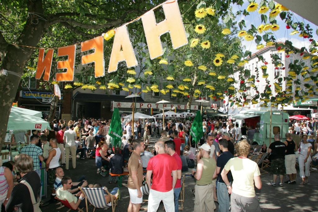 Berlin also throws one of the biggest gay pride festivals