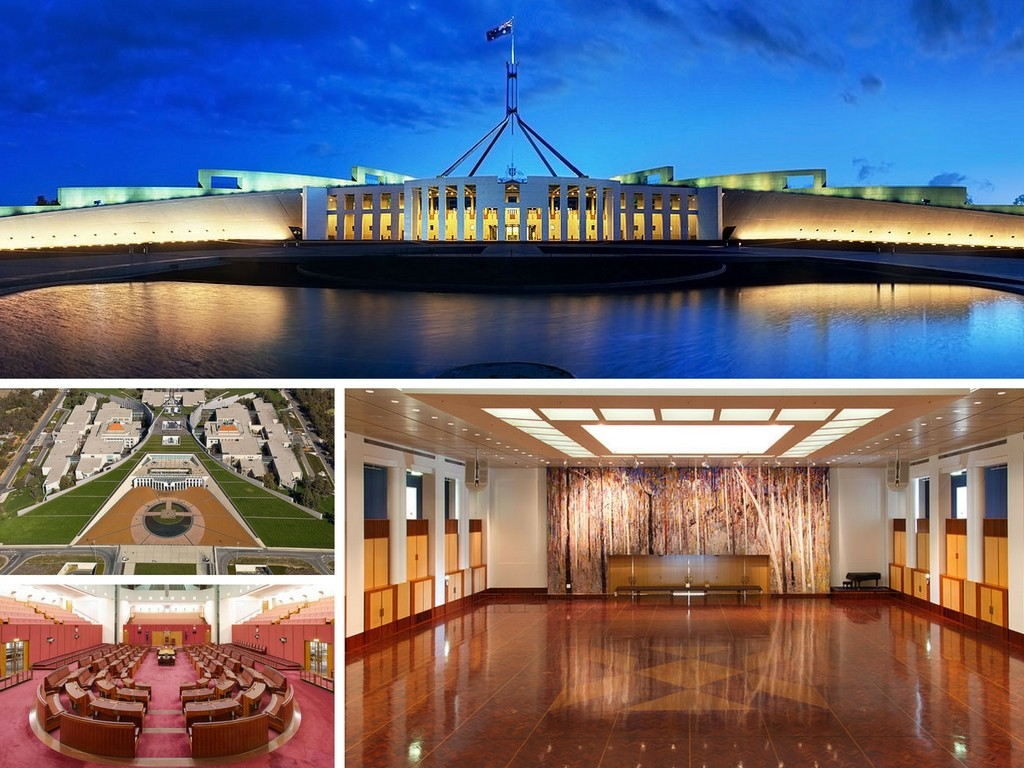 A Brief History Of Parliament House, Canberra