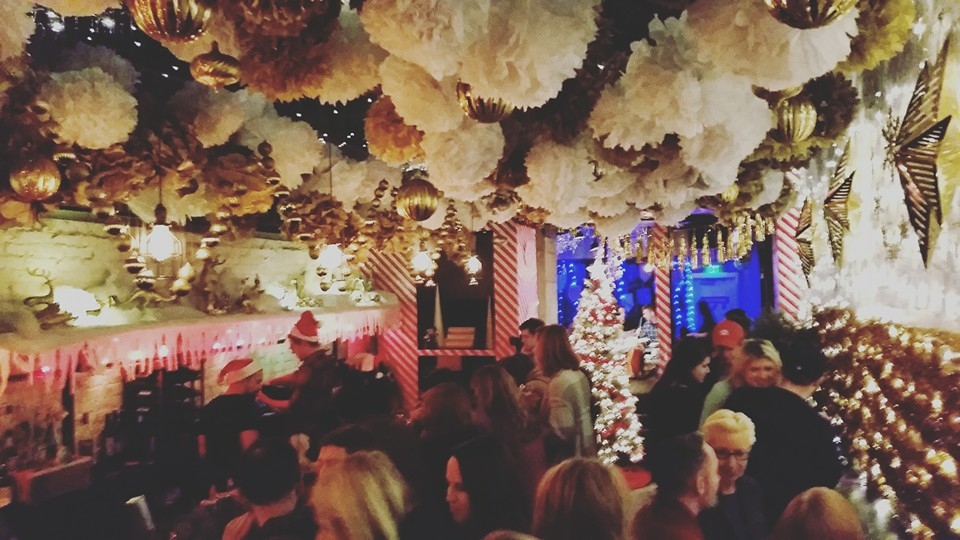 Christmas Pop Up Bar Returns To Dc