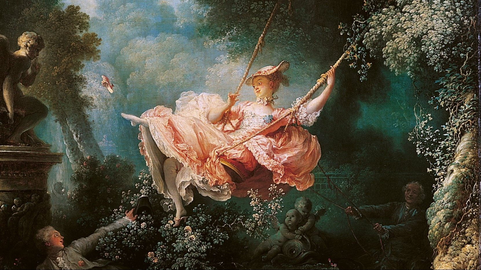 Rococo the height of french flamboyancy for Rococo period paintings