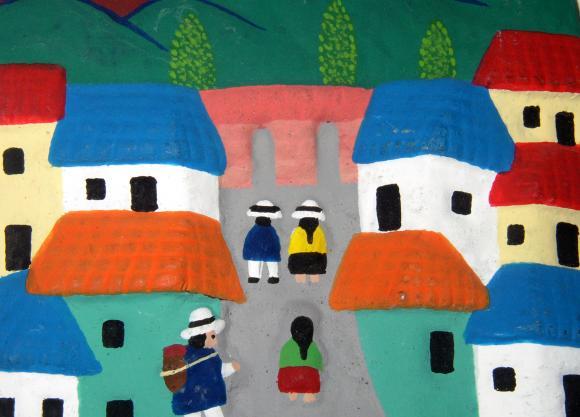 Ecuadorian folk art