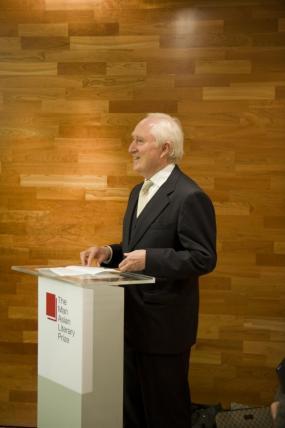 David Parker Man Asian Literary Prize Chairman