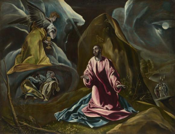 El Greco - The Agony in the Garden of Gethsemane