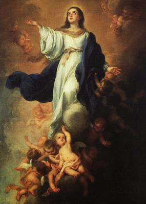 Bartolomé Esteban Murillo Assumption of the Virgin