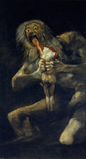 Saturn Devouring his Son Goya