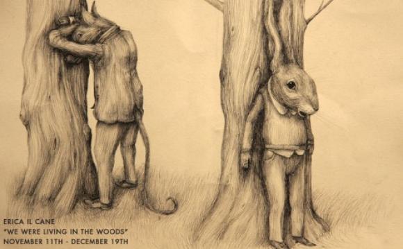 An anthropomorphous world where animals share human sins and shames
