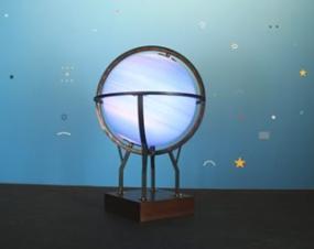 Fayçal Baghriche's Blue Globe