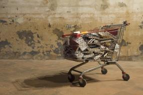 Ciprian Muresan - Untitled (Shopping trolley)