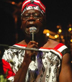 Gabon Singer Pierre-Claver Akendengué