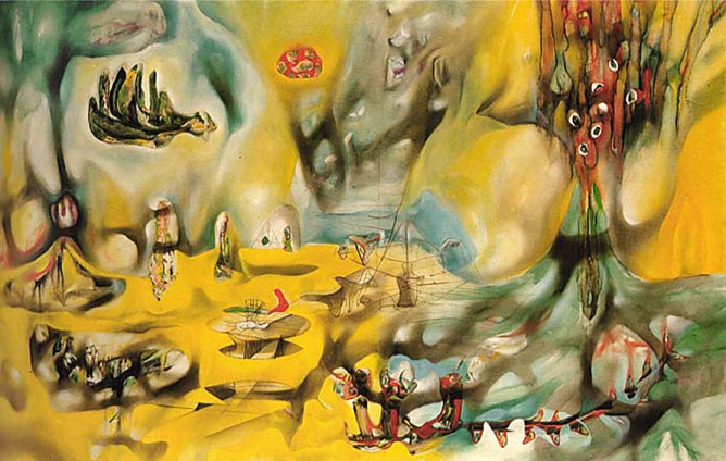 Invasion of the Night - Roberto Matta