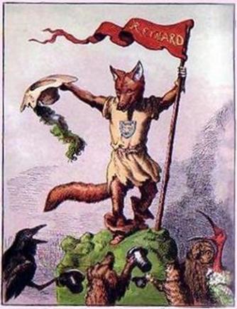 Rodange's Rénert the Fox