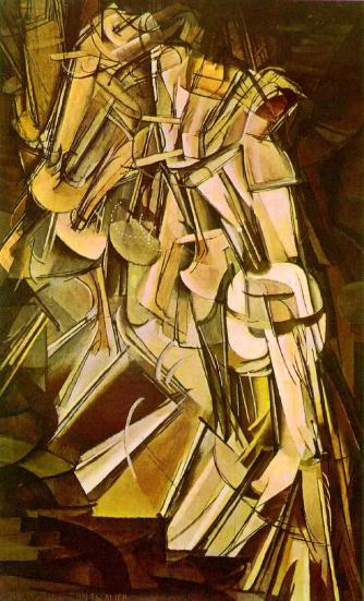 Duchamp Nude Descending Stairs