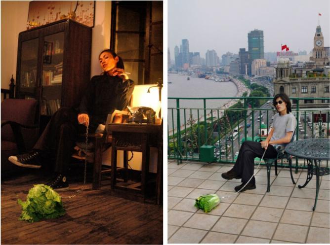 Han Bing, 'Walking the Cabbage' series